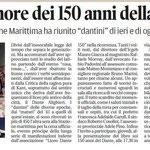 """Articolo uscito il giorno 21 ottobre 2013 sul quotidiano locale """"Il Piccolo"""""""