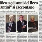 """Articolo uscito il giorno 25 settembre 2013 sul quotidiano locale """"Il Piccolo"""""""