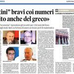 """Articolo uscito il giorno 17 settembre 2013 sul quotidiano locale """"Il Piccolo"""""""