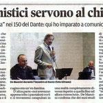"""Articolo uscito il giorno 18 giugno 2013 sul quotidiano locale """"Il Piccolo"""""""