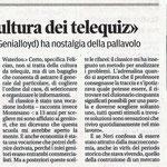 """Articolo uscito il giorno 18 settembre 2013 sul quotidiano locale """"Il Piccolo"""""""