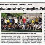 """Articolo uscito il giorno 11 giugno 2013 sul quotidiano locale """"Il Piccolo"""""""