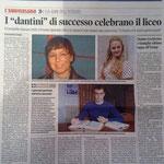 """Articolo uscito il giorno 4 aprile  2013 sul quotidiano locale """"Il Piccolo"""""""