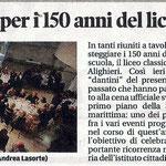 """Articolo uscito il giorno 20 ottobre 2013 sul quotidiano locale """"Il Piccolo"""""""
