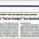 """Articolo uscito il giorno 6 giugno 2013 sul quotidiano locale """"Il Piccolo"""""""