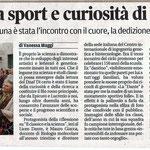 """Articolo uscito il giorno 15 marzo 2013 sul quotidiano locale """"Il Piccolo"""""""