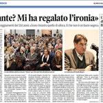 """Articolo uscito il giorno 25 gennaio 2013 sul quotidiano locale """"Il Piccolo"""""""