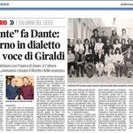"""Articolo uscito il giorno 28 maggio  2013 sul quotidiano locale """"Il Piccolo"""""""