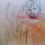Zeichnung: Porträt der Tochter