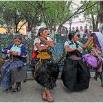 Indiennes Chamulas - Mexique