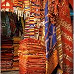 Marrakech, souk des tapis