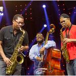Ravi Coltrane, Dezron Douglas et Steve Coleman