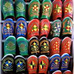 Marrakech, souk des babouches