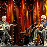 Caetano Veloso et Gilberto Gil