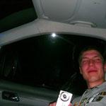 Faxen im Auto