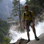 Klettersteig am Suibenfall
