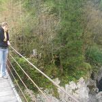 Brücke über der 3. Klamm