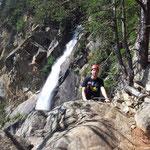 Klettersteig am Lehnerfall