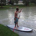 SUP Training auf dem Hochimster See