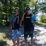 Falco und Hannes