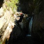 Canyoning Auerklamm (Marius)