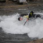 Ardèche - Slalomstrecke