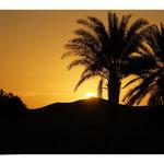 Sonnenaufgang am Fuße des Erg Chebbi
