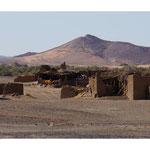Berberhäuser in der Wüste