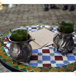 Nationalgetränk in Marokko - Minztee