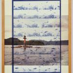 君と僕は夢の中 - Point of the sea - / 2017 紙にcyanotype、フィルム