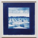 Holocaust , Potsdamer Platz / 2016 S8 紙にcyanotype ★