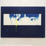 その価値、その意味 <plus one> / 2012 F8号(455×380mm) cyanotype 紙 木製パネル