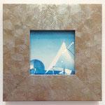 あの日のそれら -いかした海の世界- / 2015 100×100mm 紙にcyanotype★