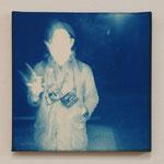 2012.04.09 -01- / 2012 SSMサイズ(226×226mm) cyanotype 紙 木枠