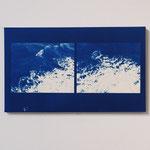 2010.09.25 / 2012 M8号(455×273mm) cyanotype 紙 木製パネル