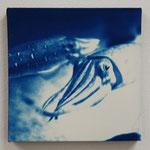 頭足鋼 -type01- / 2013 ED.5 S0号(180×180mm) cyanotype 紙 木製パネル