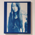 2011.07.30 / 2012 F8号(380×455mm) cyanotype 紙 木製パネル