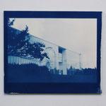 2012.05.18 / 2012 F8号(455×380mm) cyanotype 紙 木製パネル