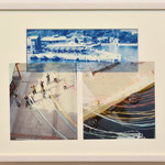 ぐっばい、カラー / 2017 紙にcyanotype、フィルム