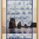 流るるままに - Island symbol - / 2016 紙にcyanotype、フィルム