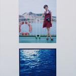 直島へ / 2010 cyanotype デジタルプリント
