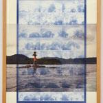 流るるままに - Point of the sea - / 2016 紙にcyanotype、フィルム