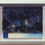 光脈に立す / 2017 紙にcyanotype、フィルム