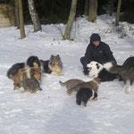 Ausflug mit Hundefreunden