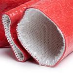 Hitzeschutz mit Glasfaser