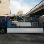 上からのリフト積、箱車などで積めない高さのある荷物に最適です。