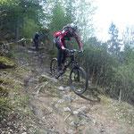 Ralf im Trail