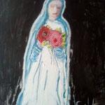 Hansi Oesterlein: Liebe und Friede - 80x100 Öl