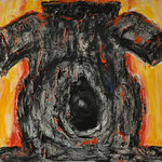 Hansi Oesterlein: Armer Baum - 80x100 Acryl