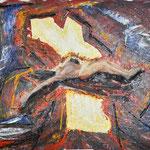 Hansi Oesterlein: Die Auferstehung - 80x100 Acryl